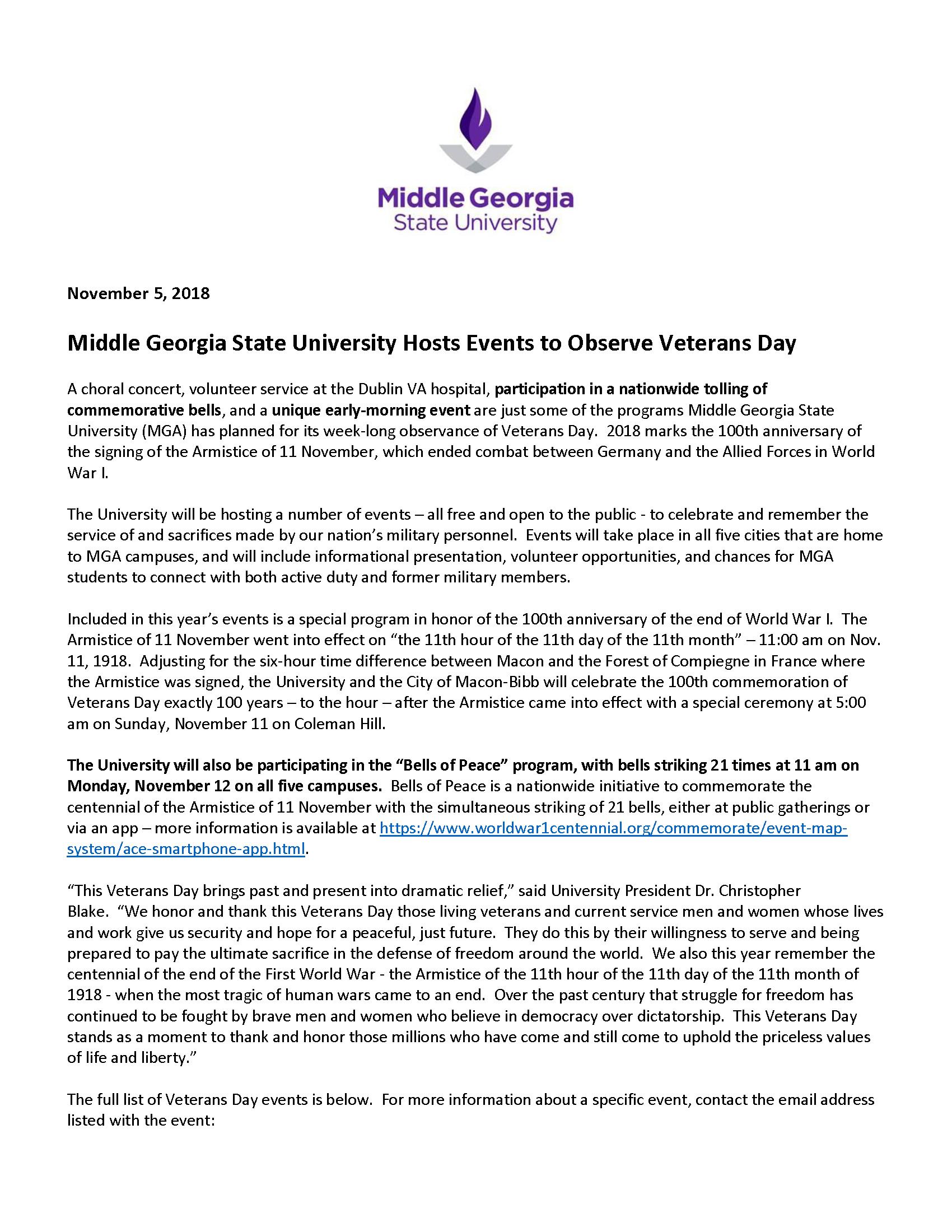 Cochran Bleckley, GA | News & Media